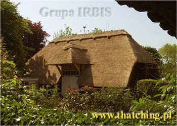 IRBIS Master Thatcher - specializes in water reed thatching, a proven roofing system with a life expectancy in excess of 70 years. Thatched roofs are sturdy and durable housetops that keep out the elements and are impenetrable to bugs, birds and vermin.