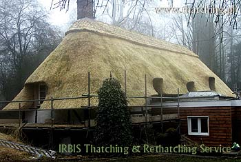 Thatching & Rethatching Service - We are masters in the art of thatch roofing between us we have a vast array of experience and are now in our third generation of thatchers!
