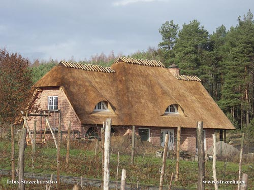 Thatch Irbis: suburban residence - thatch at the new house - Lubusza!