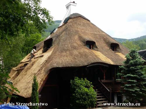 Thatch - a longer period of unattended or executive errors often cause locally the need for deep repairs
