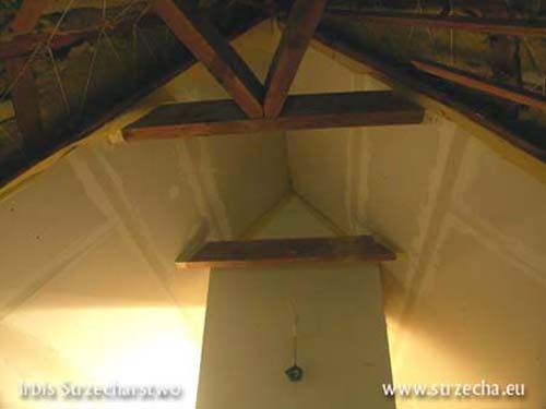 Reed roof: Finishing of thatched insulation in the Polfibra system