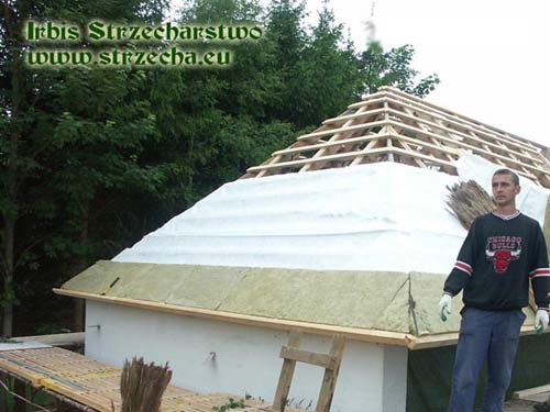 Sepatec - provides effective protection of the thatched roof